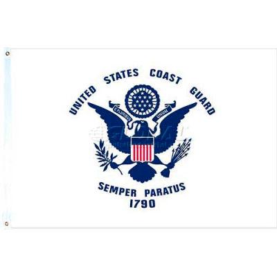 3X5 Ft. Nylon US Coast Guard Flag