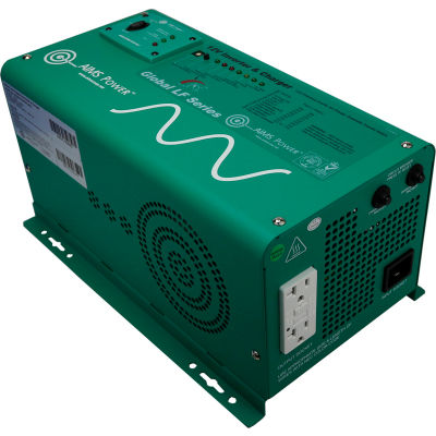 AIMS 1250 Watt Low Frequency Pure Sine Inverter Charger 12 Vdc to 120 Vac, PICOGLF12W12V120AL