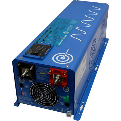 AIMS 4000 Watt Pure Sine Inverter Charger 12Vdc/120Vac Input & 120/240Vac, PICOGLF40W12120240VS