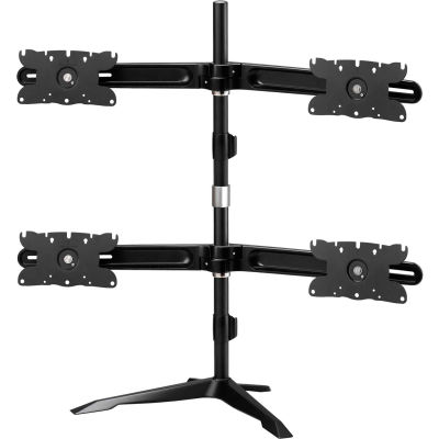 Dyconn Albatross Quad-Display Monitor Mount, Black