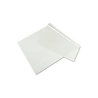 Clear Sheet Desk Pad, 20 x36, Clear