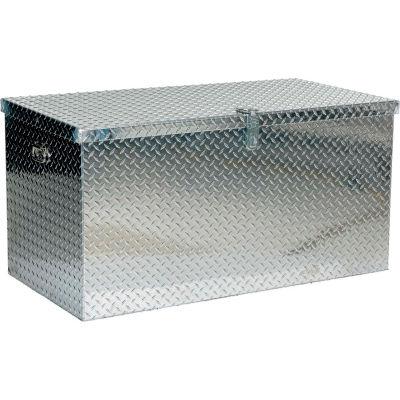 """Aluminum Treadplate Tool Box APTS-2448 - 48""""x24""""x24"""""""