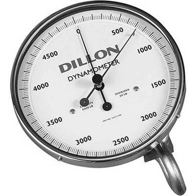 """Dillon AP Mechanical Dynamometer, 10"""" Dial, 30,000 lb x 200 lb"""