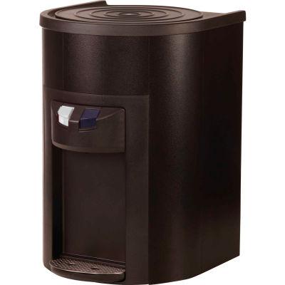 Aquaverve Bottleless Degree Commercial Countertop Cold Water Cooler W/Fltr Kit - Black Stainless