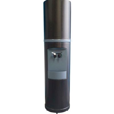 Aquaverve Bottleless Fahrenheit Model Commercial Cold Water Cooler W/ Filtration, Black W/ Blue Trim