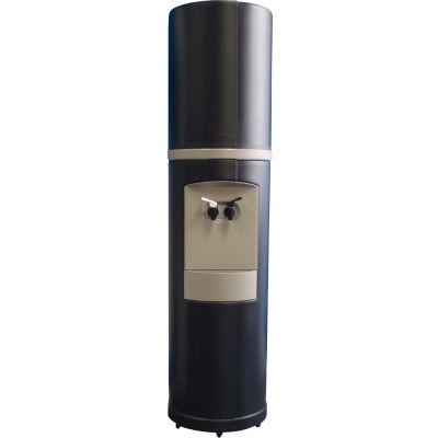 Aquaverve Bottleless Fahrenheit Model Commercial Cold Water Cooler W/ Filtration, Black W/ Grey Trim