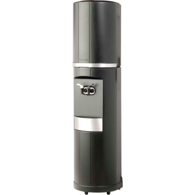 Aquaverve Bottleless Fahrenheit Model Commercial Cold Water Cooler W/Filtration, Black & Silver Trim