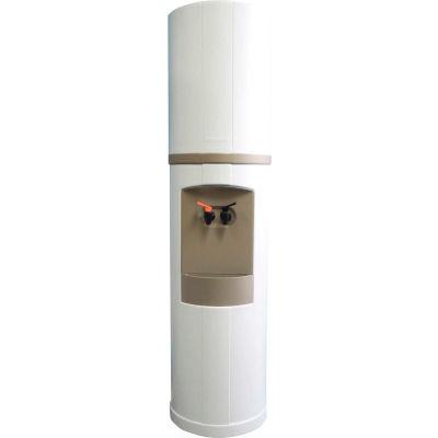 Aquaverve Bottleless Fahrenheit Model Commercial Hot/Cold Cooler W/ Filtr, White W/ Grey Trim