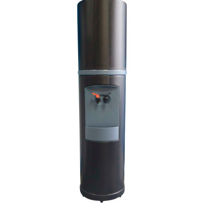 Aquaverve Bottleless Fahrenheit Model Commercial Hot/Cold Cooler W/ Filtr, Black W/ Blue Trim
