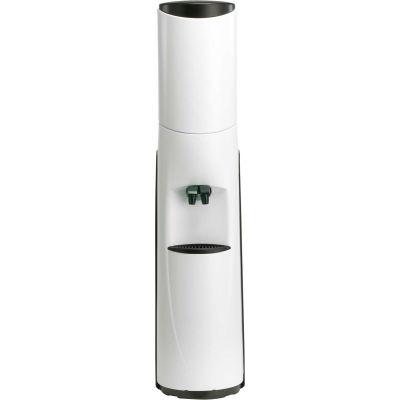 Aquaverve Bottleless Pacifik Model Commercial Cold Water Cooler W/ Filtration - White W/ Black Trim