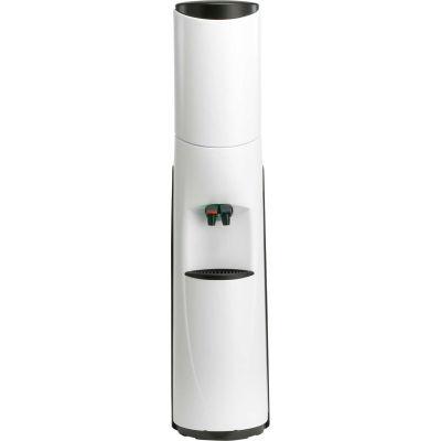 Aquaverve Bottleless Pacifik Model Commercial Hot/Cold Water Cooler W/ Filtr - White  W/ Black Trim