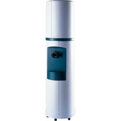 Aquaverve Fahrenheit Model Commercial Hot/Cold Bottled Water Cooler Dispenser- White W/ Black Trim