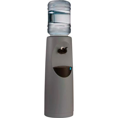 Aquaverve Koncept Model Commercial RoomTemp/Cold Bottled Water Cooler Dispenser - Grey W/ Black Trim