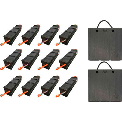 AME 12 Piece Primo Cribbing Kit with Lock Top Plates - 15269PL