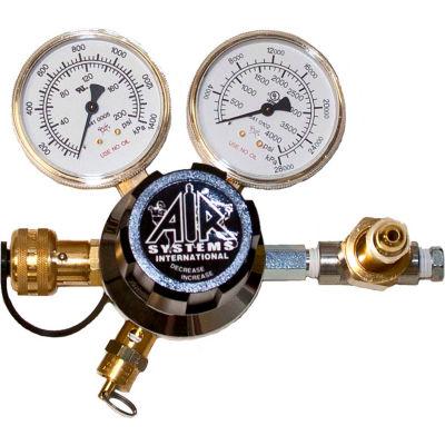 Air Systems International 5000 PSIDual-Gauge Breathing Air Regulator, Hansen Fitting, RG-5000