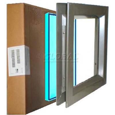 """Complete PAK VSL 0722B WS PAK, Includes Low Profile 7"""" X 22"""" & WireShield Fire & Safety Glass"""