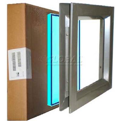 "Complete PAK VSL 2424B TEMP PAK, Includes Low Profile 24"" X 24"" & Tempered Glass"