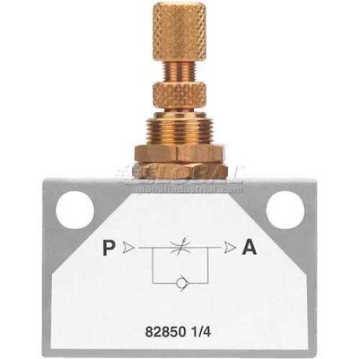 "AIGNEP Inline Flow Control 82850-04, 1/4"" Female Nptf - Min Qty 4"