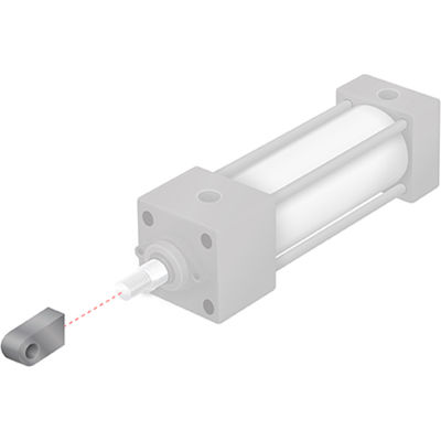 "Aignep USA NFPA Rod Eye 7/16-20 Thread 1-1/2"" to 2-1/2"" NFPA Cylinder"