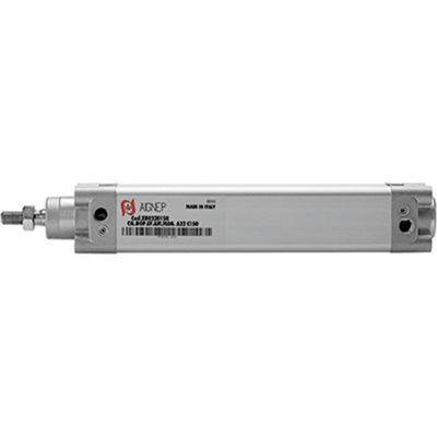 Aignep USA ISO 15552 Double Acting Magnetic Cylinder 80mm Bore x 25mm Stroke