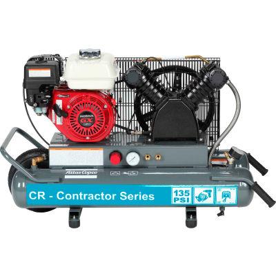 Atlas Copco CR5.5-SS-24G-HG 5.5HP Gasoline Single-Stage Horizontal Compressor - 135 PSI