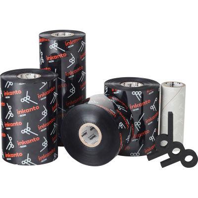 Inkanto T16204IO Near-Edge Resin Ribbon - GHS, UL, 114mm x 600m, AXR 600, 12 Rolls/Case