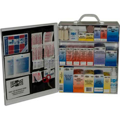 Pac-Kit® 3-Shelf Industrial First Aid Station