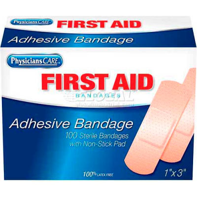PhysiciansCare® First Aid Flexible Fabric Bandages