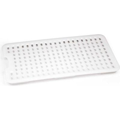 Araven 00256 - Drain Tray, HDPE, 1/1 Size, White - Pkg Qty 12