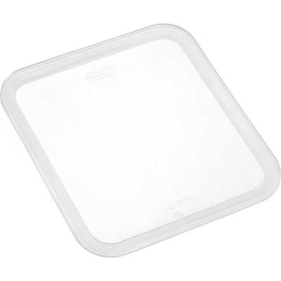 Araven 91815 - Lid, Airtight, Silicone, 1/2 Size, Transparent - Pkg Qty 6
