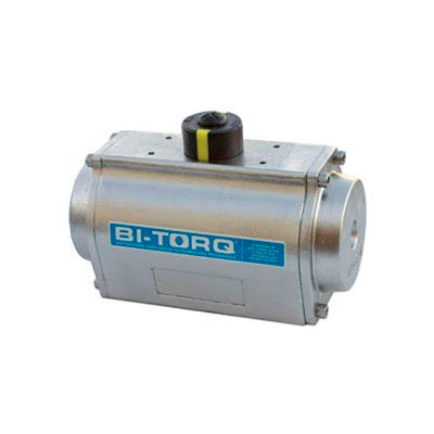 Stainless Steel Spring Return Pneumatic Actuator; 3054 In Lbs Spring End Torque