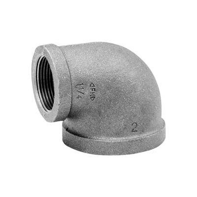 Anvil 1-1/2 In. X 1-1/4 In. Black Malleable Iron 90 Elbow