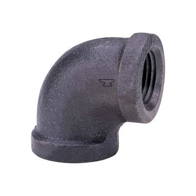 Anvil 3 In. Black Malleable 90 Elbow