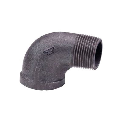Anvil 3/8 In. Extra Heavy Black Malleable 90 Street Elbow