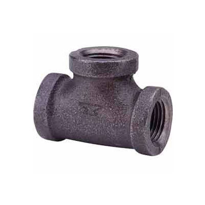 1-1/4 In. Black Malleable Tee 150 PSI Lead Free