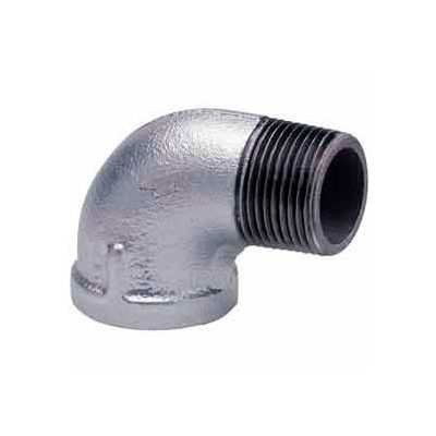 1/2 In Galvanized Malleable 90 Degree Street Elbow 150 PSI Lead Free