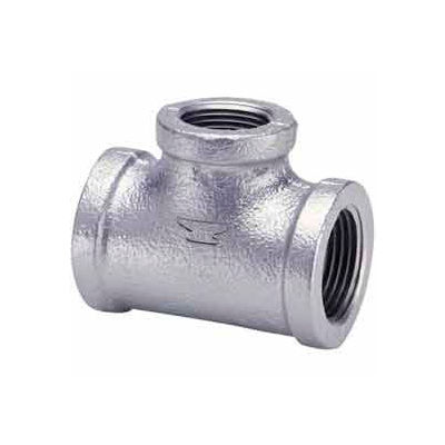 2 In Galvanized Malleable Tee 150 PSI Lead Free