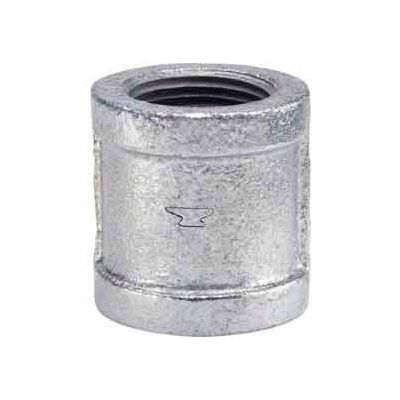 3/4 In Galvanized Malleable Coupling 150 PSI Lead Free