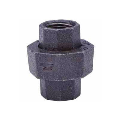 3/4 In. Black Malleable Union 150 PSI Lead Free