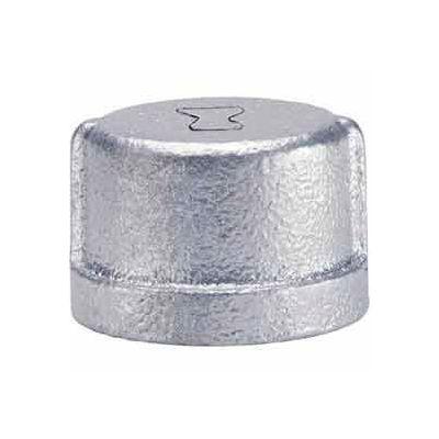 1-1/2 In Galvanized Malleable Cap 150 PSI Lead Free