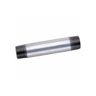 1-1/2 In X 2 In Galvanized Steel Pipe Nipple 150 PSI Lead Free