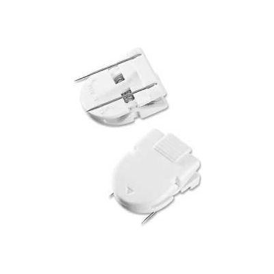 Advantus® Panel Wall Clips, 40 Sheet Capacity, White, 4/Pack
