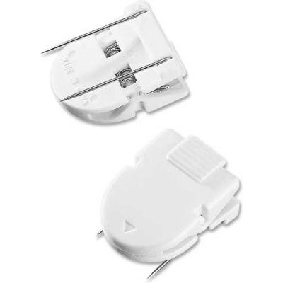 Advantus® Panel Wall Clips, 40 Sheet Capacity, White, 20/Pack