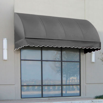 "Awntech CS33-8G, Window/Entry Awning 8' 4-1/2""W x 3'D x 3' 8""H Gray"