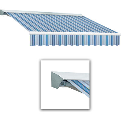 "Awntech DM12-153-BBGW, Manual Retractable Awning 12'W x 10'D x 10""H Blue"