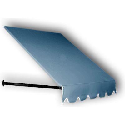 "Awntech ER1030-8DB, Window/Entry Awning 8' 4-1/2""W x 2' 6""D x 1' 4""H Dusty Blue"