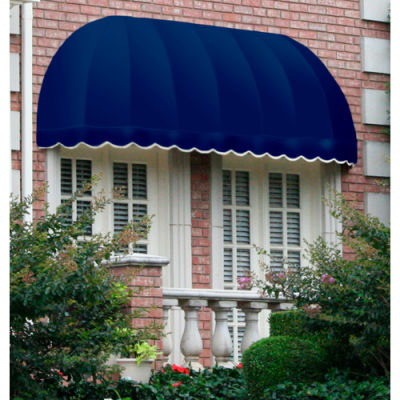 "Awntech RC22-10N, Window/Entry Awning 10' 4-1/2"" W x 2'D x 2' 7""H Navy"