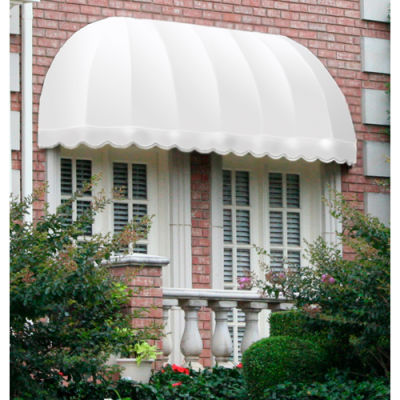 """Awntech RC22-4W, Window/Entry Awning 3' 4-1/2"""" W x 2'D x 2' 7""""H Off White"""