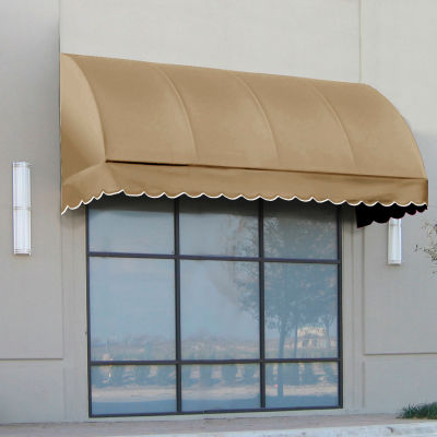 "Awntech RS22-3T, Window/Entry Awning 3' 4-1/2"" W x 2'D x 2' 7""H Linen"