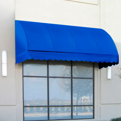 "Awntech RS22-4BB, Window/Entry Awning 4' 4-1/2"" W x 2'D x 2' 7""H Bright Blue"